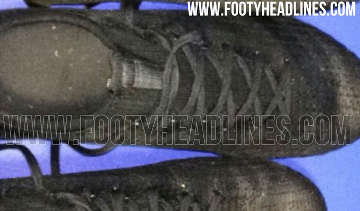 premium selection 64eed 6a8ff Looking similar to the Adidas X 17.1 football boot, the second new blackout  Adidas 2018 prototype soccer cleat is not as interesting as the first one.