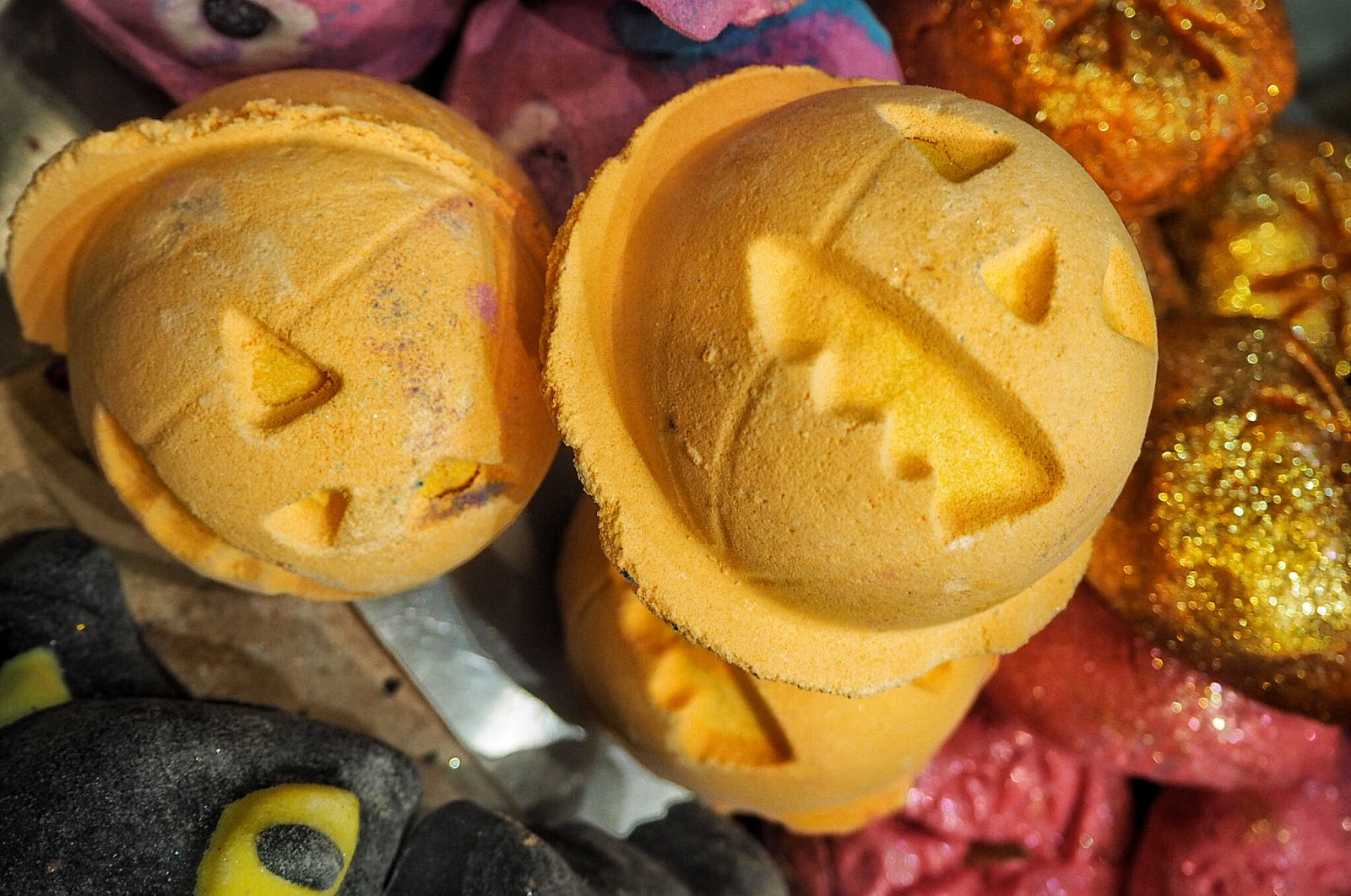 Lush, Halloween, 2017, Bath bombs, Bubble Bars, Autumn, Pumpkin