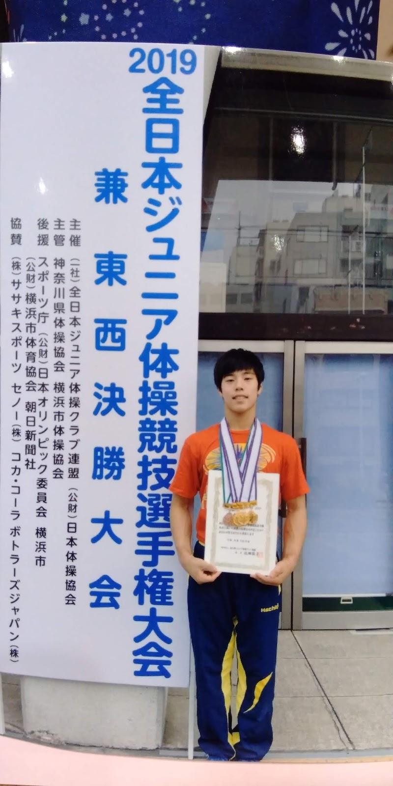 体操 全日本 2019 ジュニア
