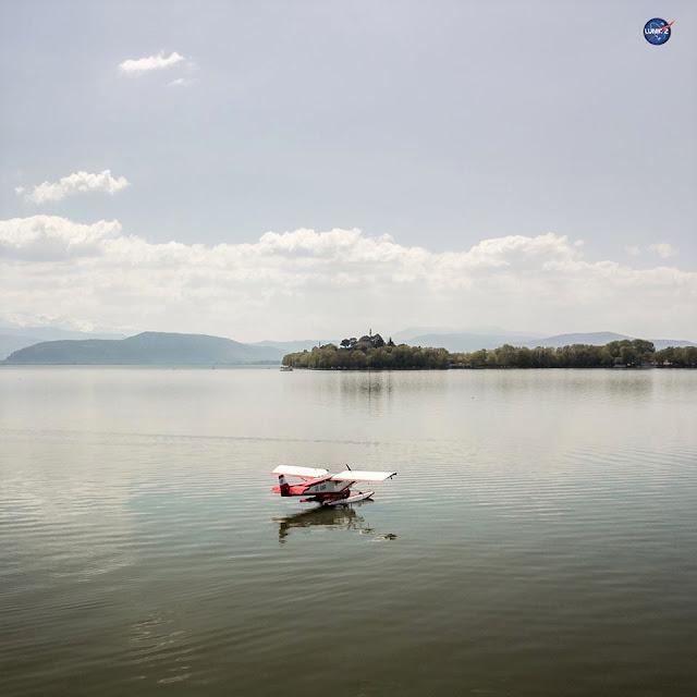 Γιάννενα: Άφιξη του πρώτου ιδιωτικού υδροπλάνου στα Γιάννενα