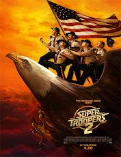pelicula Super Troopers 2 (Super policías 2)