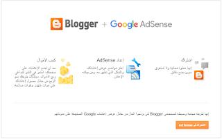 إشترك فى إعلانات ادسنس لمدونة بلوجر لربح المال مجانا