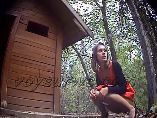 PissHunters 8561-8576 (Outdoor voyeur peeing. Voyeur public toilet spy cam)