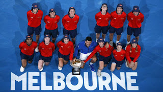 TENIS - Open Australia masculino 2019: Djokovic barre a Nadal y gana su tercer Grand Slam seguido