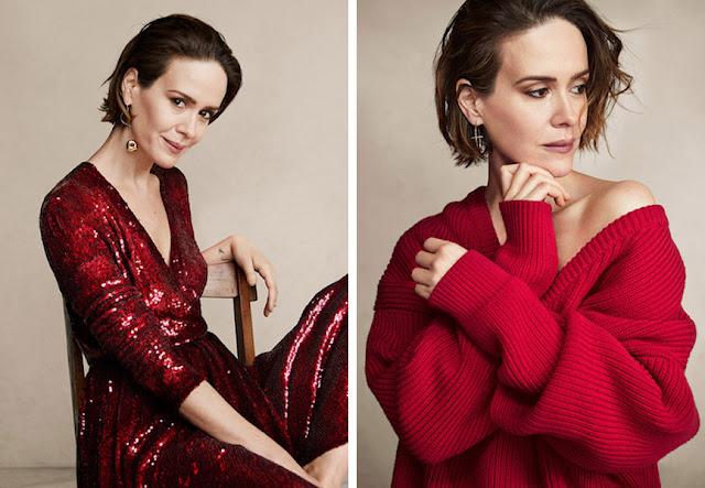 Платье и свитер глубоких оттенков красного