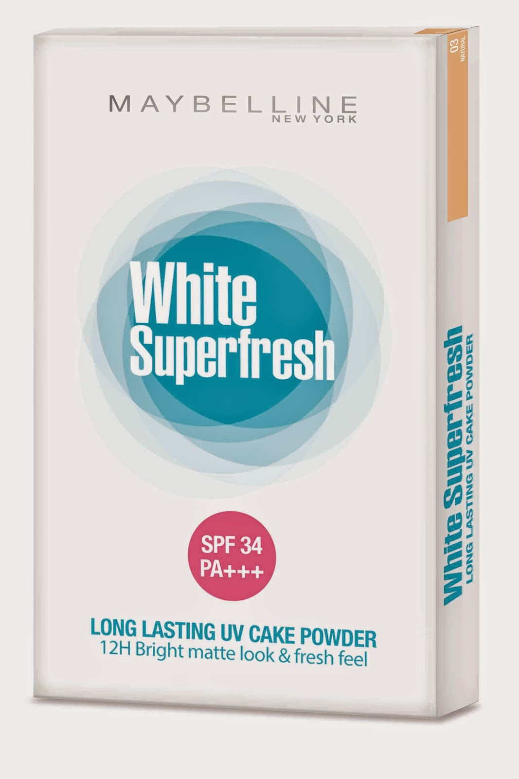 Maybelline White Super Fresh, Maybelline New York