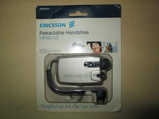 Handsfree Ericsson HPW-10 Jadul Original Ericsson