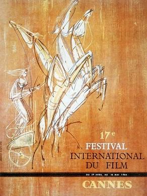 Jean-Claude Moreau poster for cannes