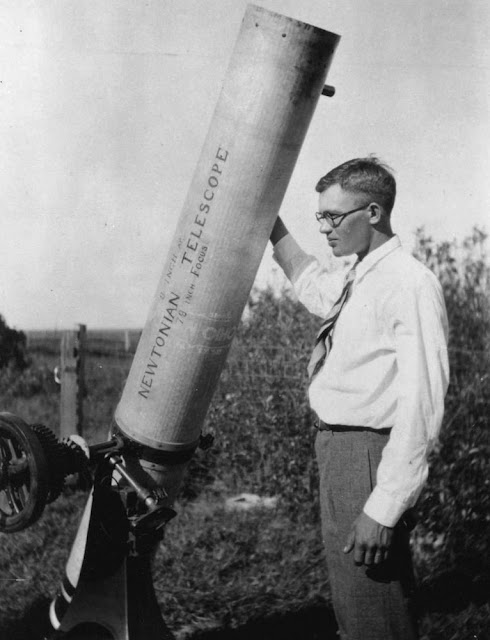 Clyde Tombaugh spotted Pluto in 1930 with this telescope.