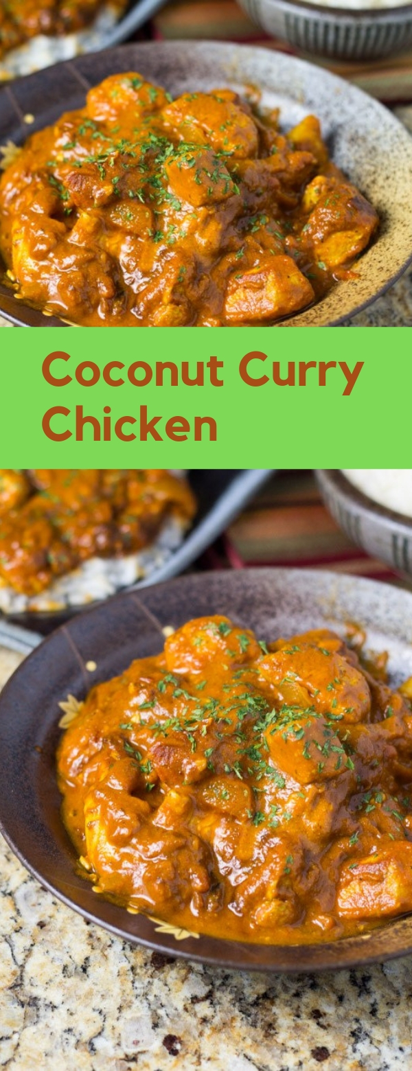 Coconut Curry Chicken #CHICKEN #COCONUT #LUNCH