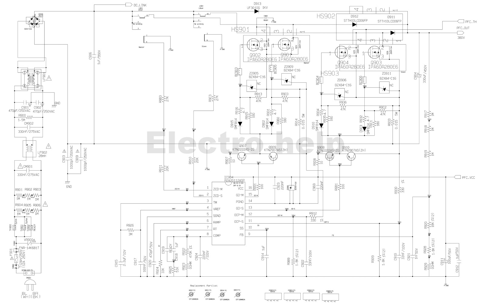 450 W Smps Circuit Diagram Auto Electrical Wiring Atx Schematic Dna1005a Lg Cm8430 Mini Hifi Shelf System Of 1 Kv For Positioning The