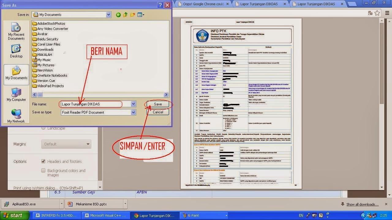 Download Gratizzz Cara Menyimpan Info Ptk Ke Dalam Format Pdf