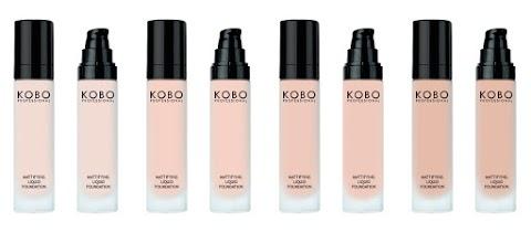 Kosmetyki do makijażu twarzy KOBO Professional – nowa edycja - prezentacja cz.II