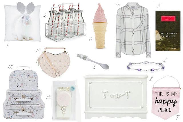 Pastel girly shabby chic blog wishlist