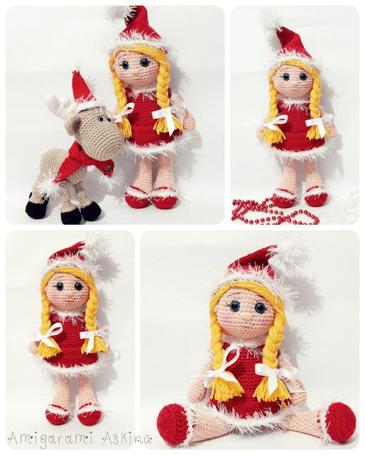 Amigurumi Yeni Yıl Bebeği-Amigurumi Doll