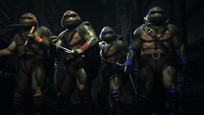 """Las Tortugas Ninja entran en acción en un nuevo vídeo de """"Injustice 2""""."""