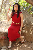 Telugu Actress Zahida Sam Latest Pos in Red Gown at RF Films New Movie Opening  0262.JPG