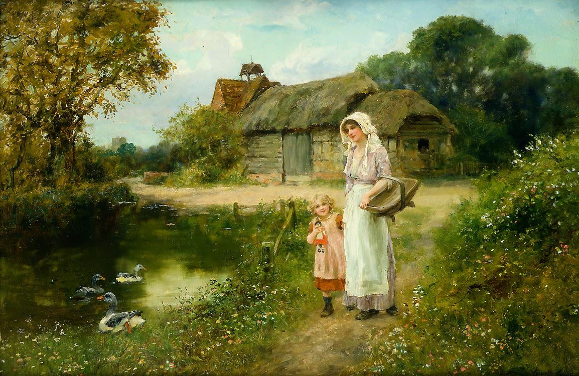 Victorian British Painting Henry John Yeend King
