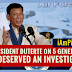 Duterte: 5 Generals Deserve An Investigation