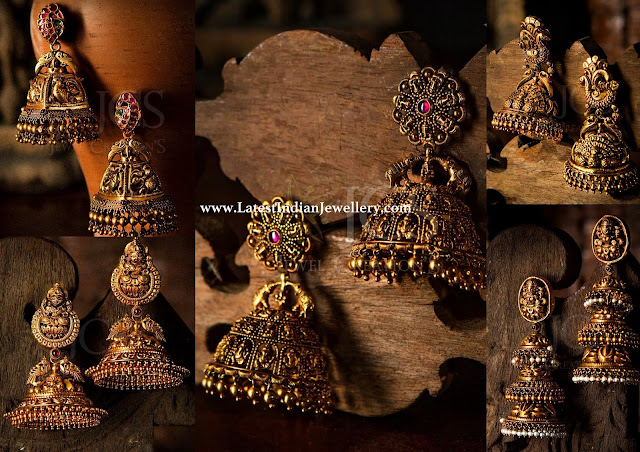 Unique Jhumka Designs Collection