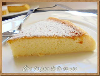 Pastel de queso y chocolate blanco