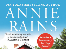 New Release: Springtime at Hope Cottage (Sweetwater Springs #2) by Annie Rains