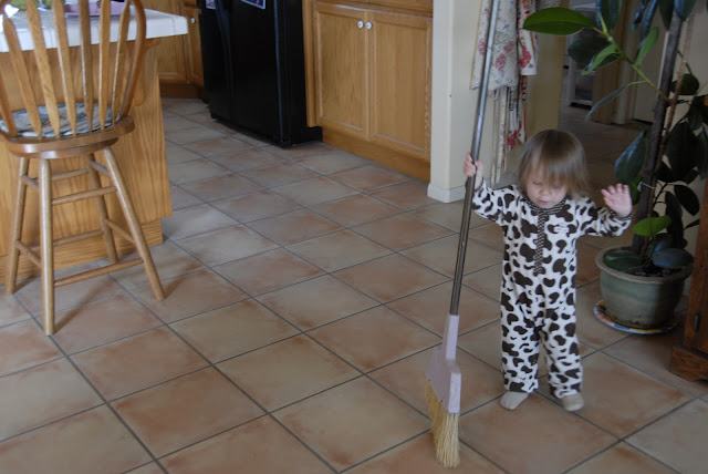 Granddaughter Sweeping: LadyD Books