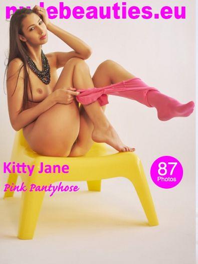 w38Vk NudeBeauties - 376 Kitty Jane - Pink Pantyhose