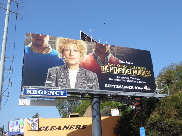 Law Order True Crime Menendez Murders billboard