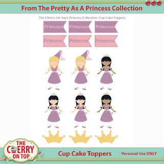cup cake toppers/stickers