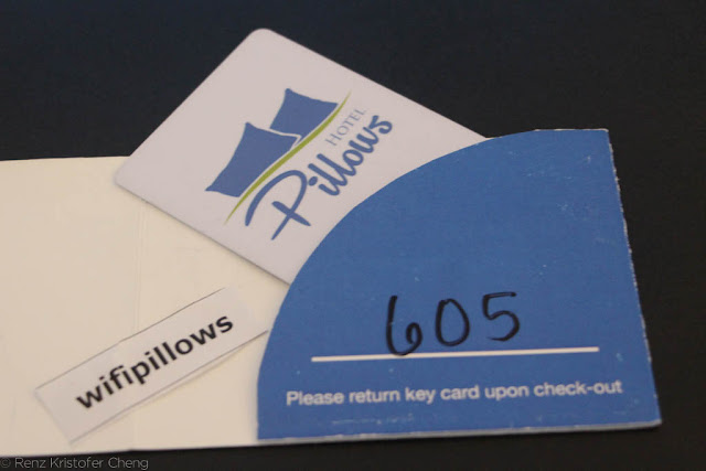 Pillows Hotel Keys