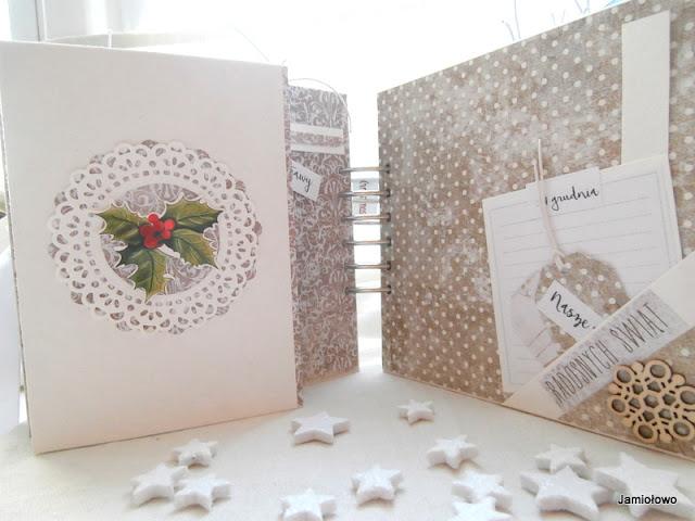 wianek świąteczny z papieru