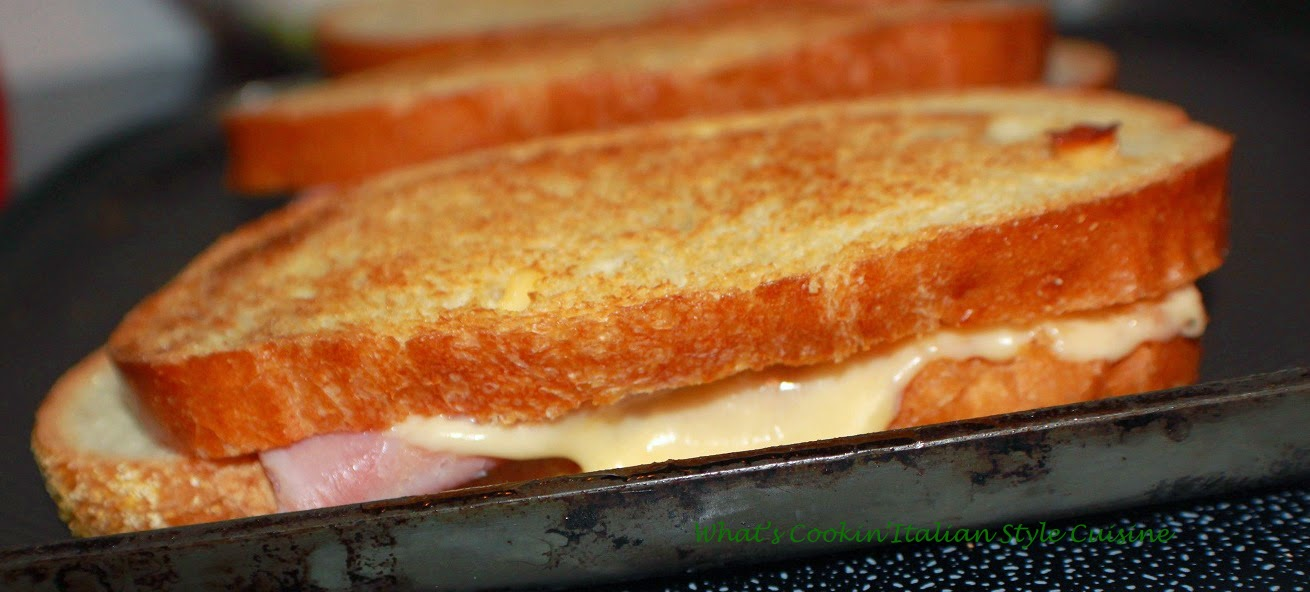 Grilled Cheese and Capicola Roasted Pepper Sandwich | What ...