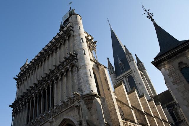De Notre Dame kerk in Dijon. Credits: Atout France/Cédric Helsly