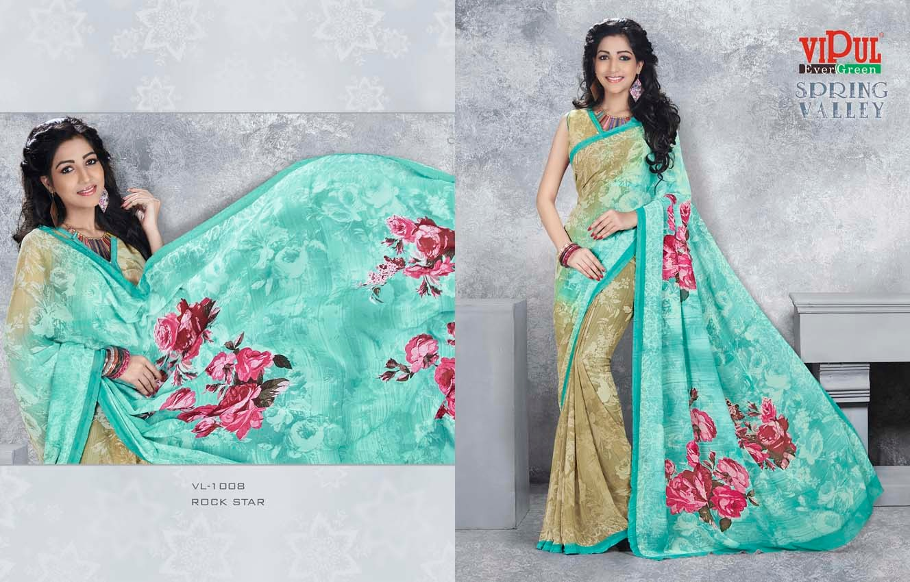 VL CAT – 100 – Latest Casual Wear Printed Saree Buy Online