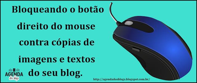 Bloqueie o botão do mouse
