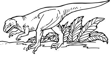 Dinosaurier Malvorlagen - Free Mandala