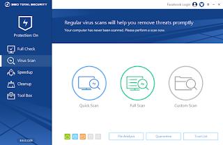 360 Total Security, Keamanan, Kecepatan, Windows