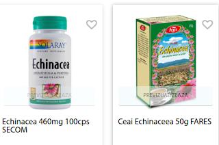 Cumpara de aici produse cu echinaceea pt imunitate