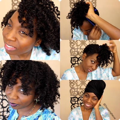 How to do the Pineapple on your Natural Hair DiscoveringNatural