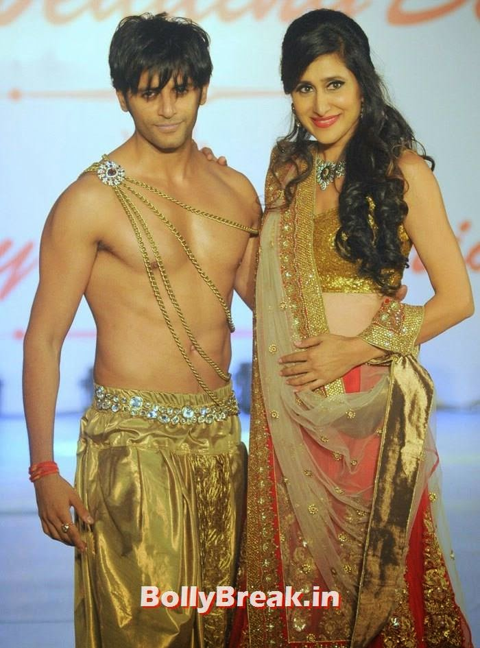 Karanvir Bohra, Teejay Sidhu, Amy Billimoria Fashion Show - The Big Fat Fashionable Wedding