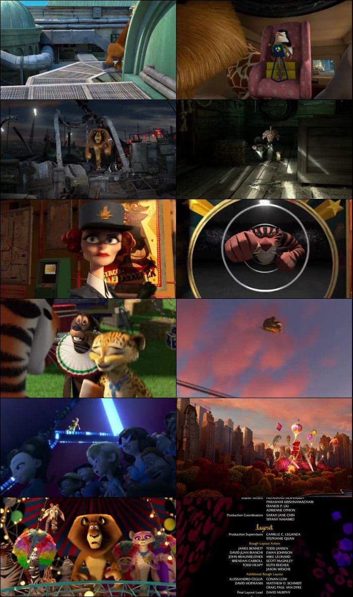 Madagascar 3 2012 Dual Audio