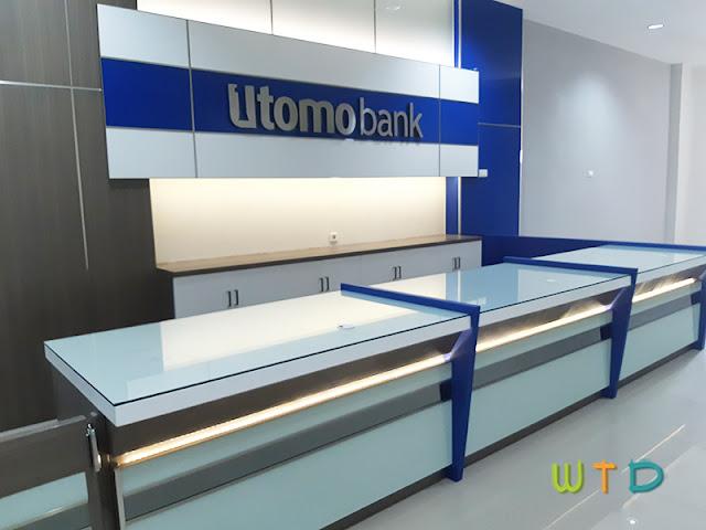 Interior Desain Bank Lampung