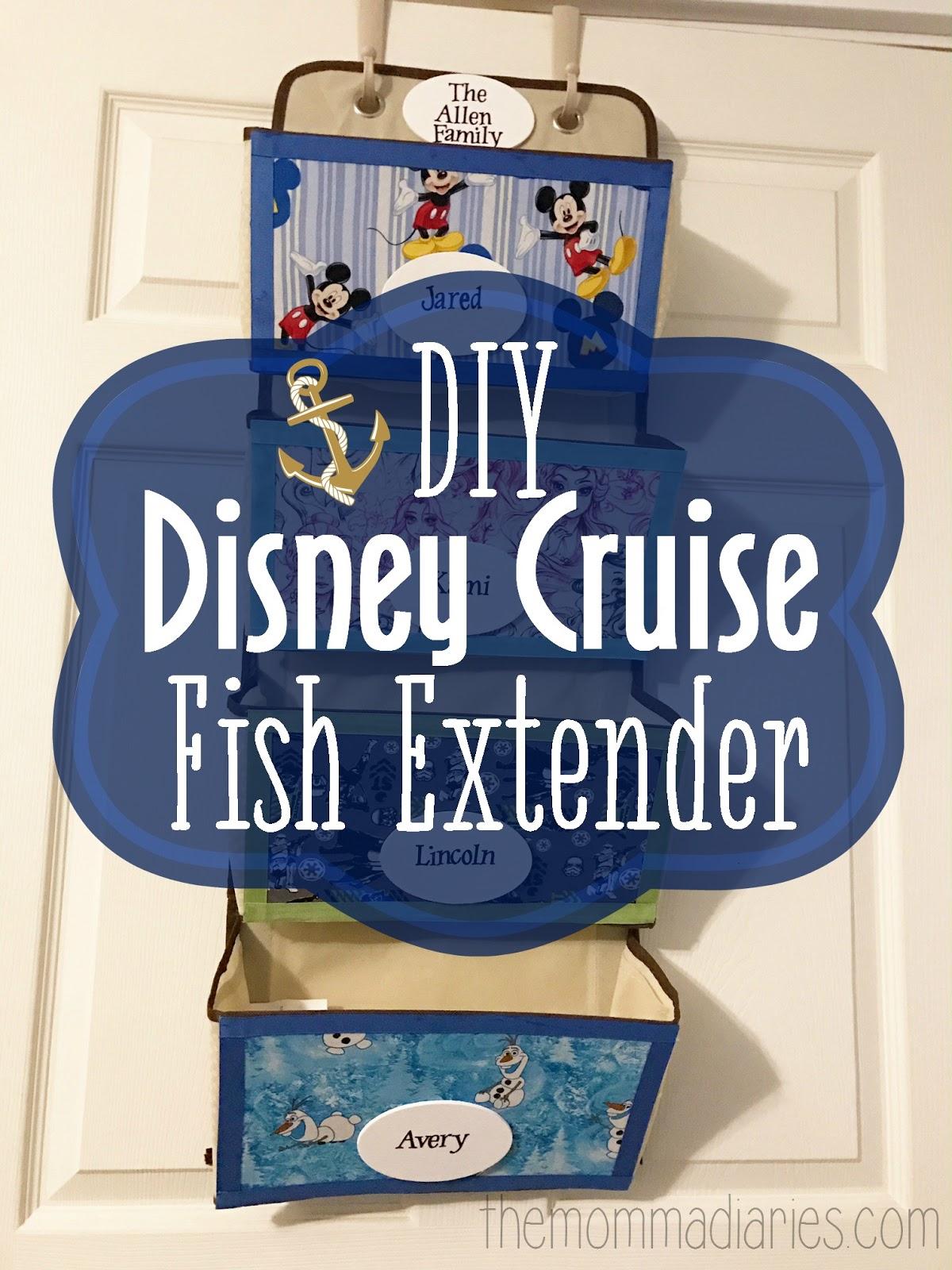Diy Disney Cruise Fish Extender The Momma Diaries