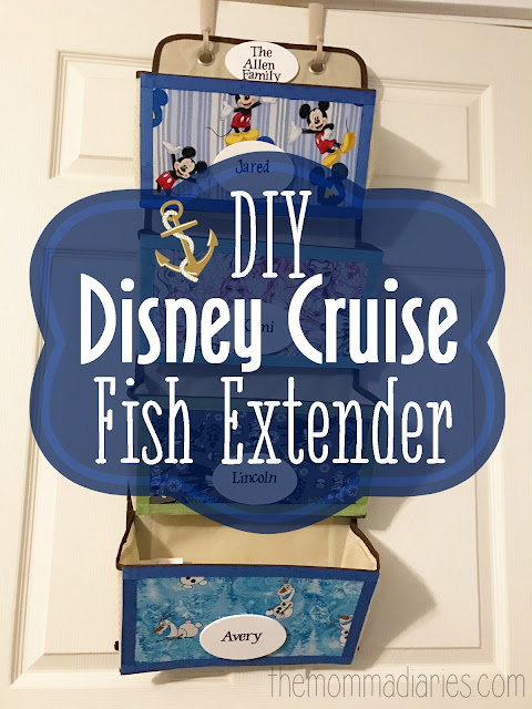 Diy Disney Cruise Fish Extender The Momma Diaries