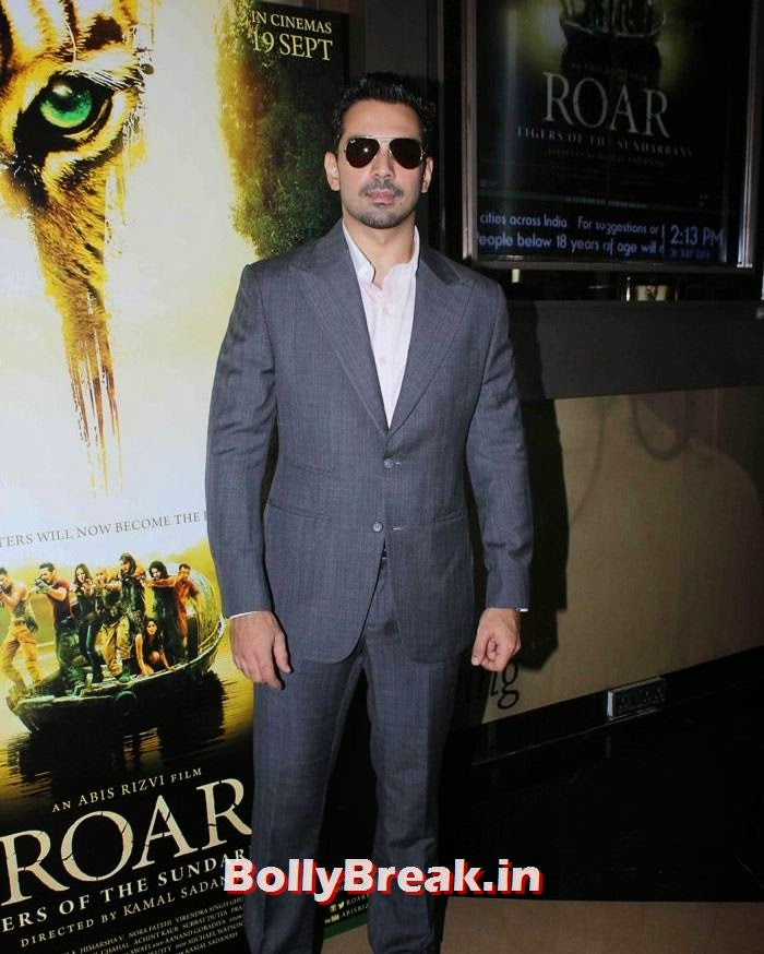 Abhinav Shukla, Celebs at 'Roar' Movie First Look Launch