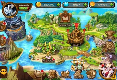Download Game Clash of Warriors NinjaPirate v1.13.1 Mod Apk Terbaru