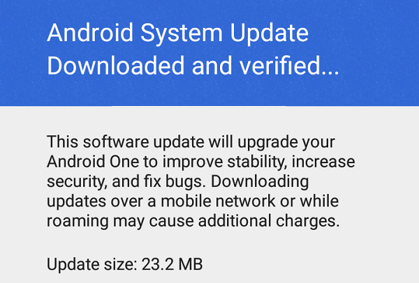 Android-one-May-Security-update