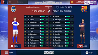 DLS 19 Mod Menu Barcelona APK OBB Download