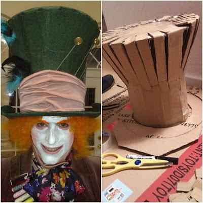 hacer un sombrero de willy wonka